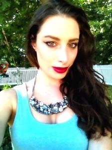 Photo taken by me Lipstick MAC Rebel