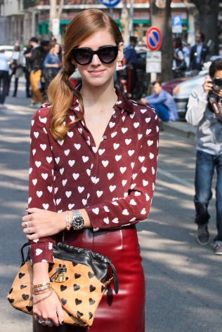Photo of street style star, Chiara Ferragni. Taken by: Giorgio Montersino Used from Flickr Creative Commons