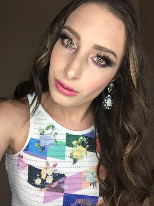Too Faced Makeup Look