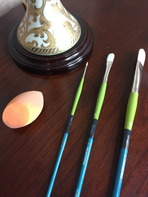 Real techniques beauty blender and brushes