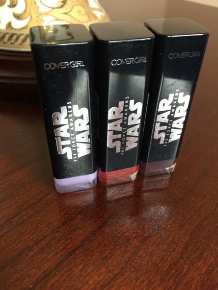 Star Wars Force Awakens lipstick