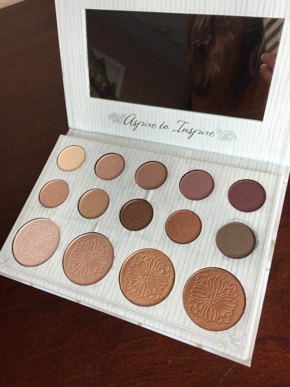 inside the carli bybel palette