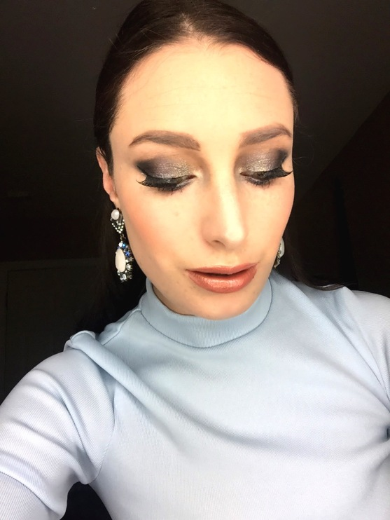 winter makeup look